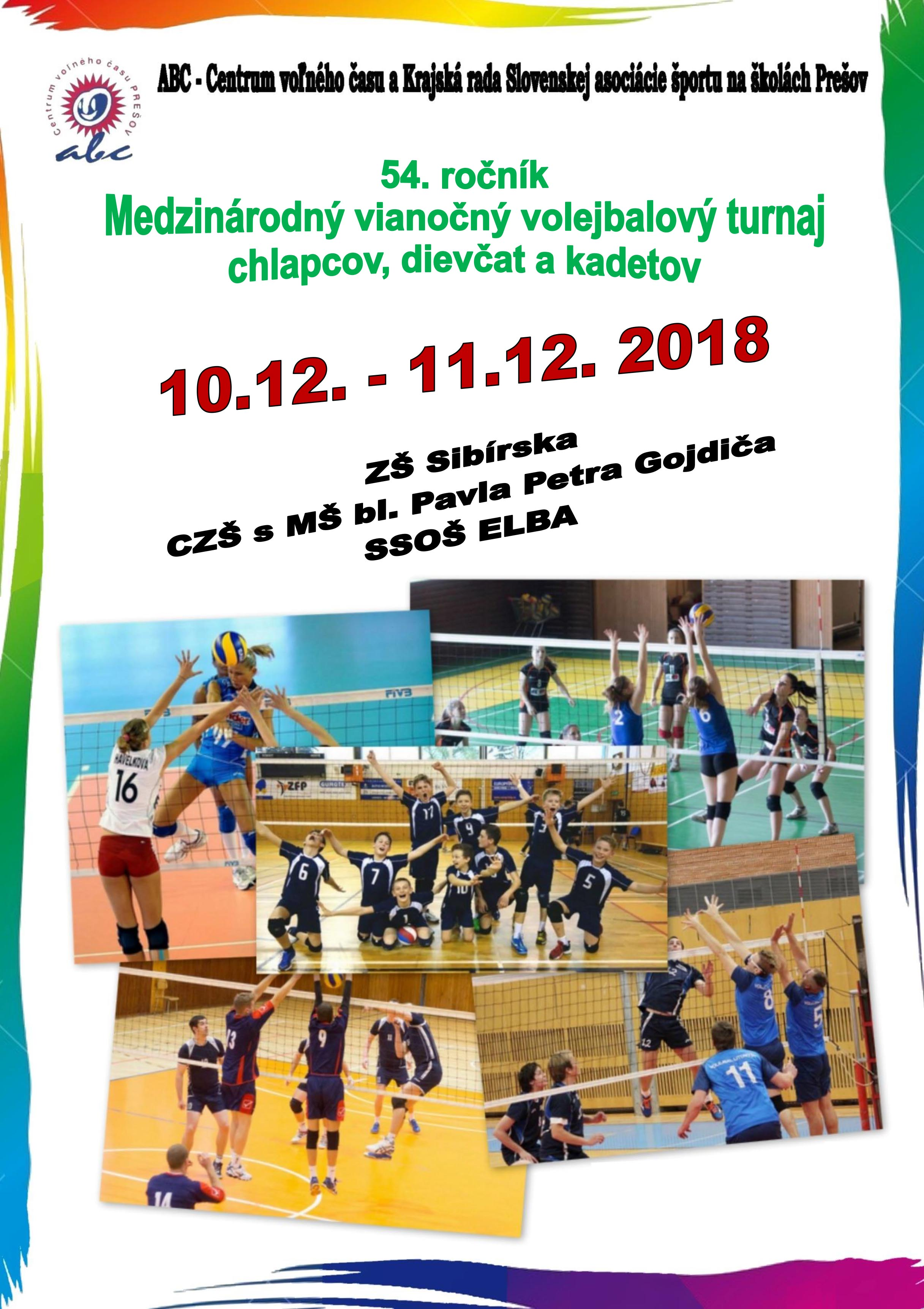 V Prešove sa uskutoční 54. ročník vianočného turnaja žiačok 8448e8b288