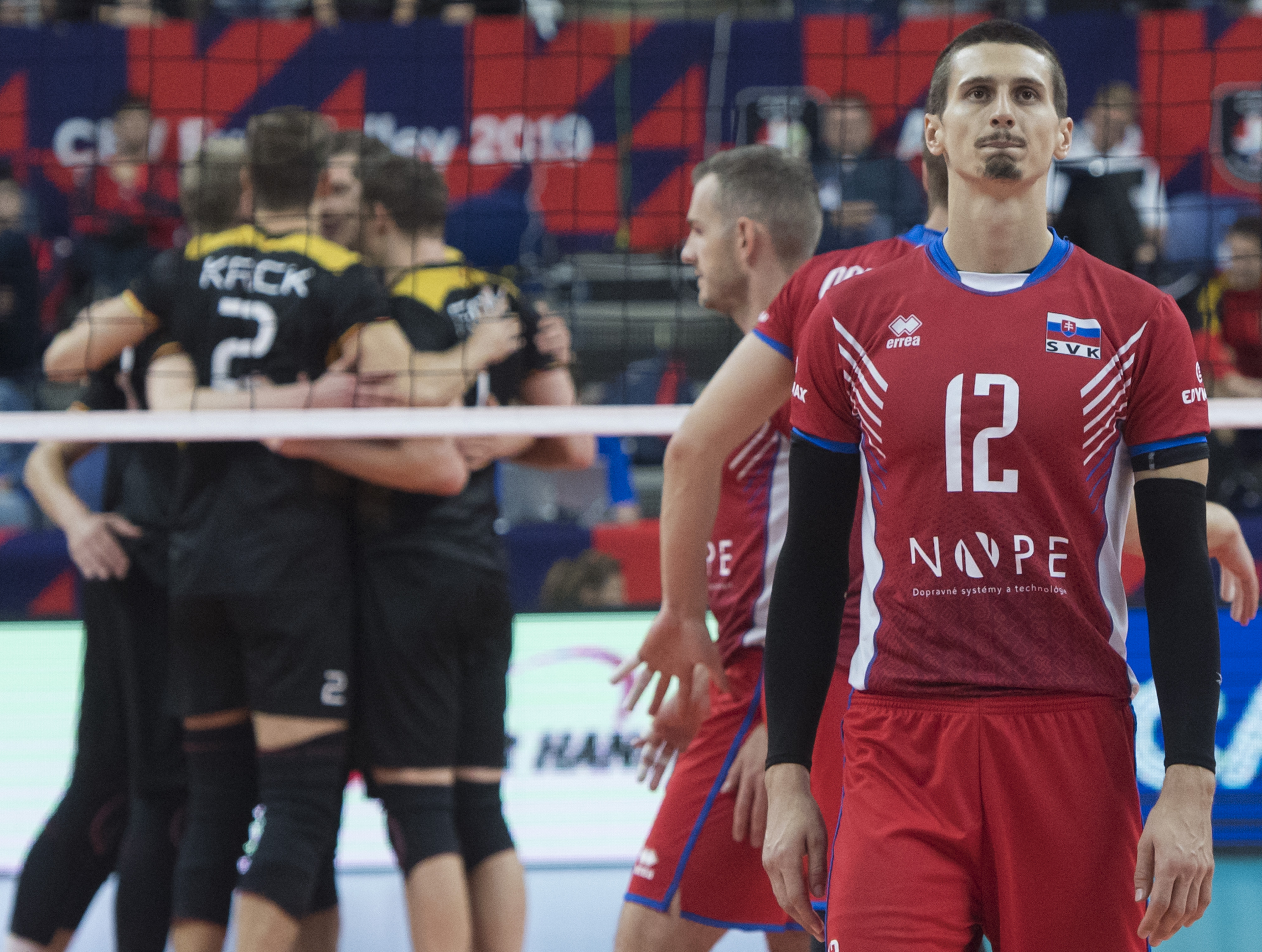 Slováci začali na ME dvomi víťazstvami, ale napokon to na postup smolne nestačilo. FOTO: TASR - Martin Baumann