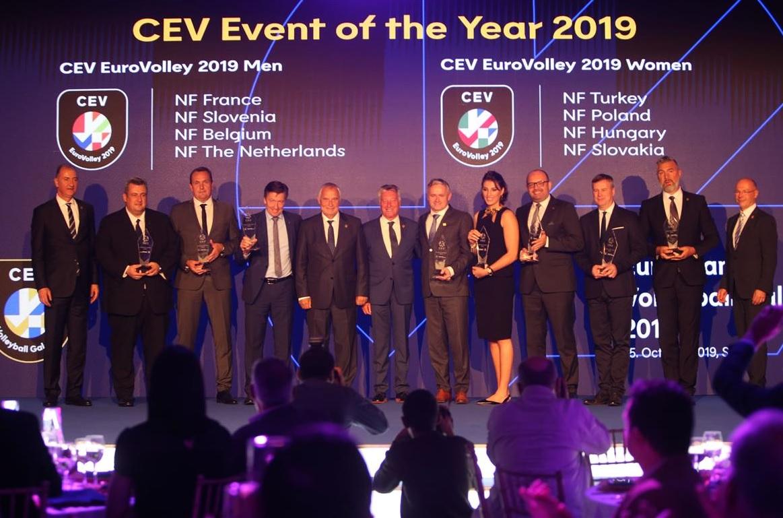 Šampionáty EuroVolley boli úspešnou vrcholnou akciou tohto roka. FOTO: CEV