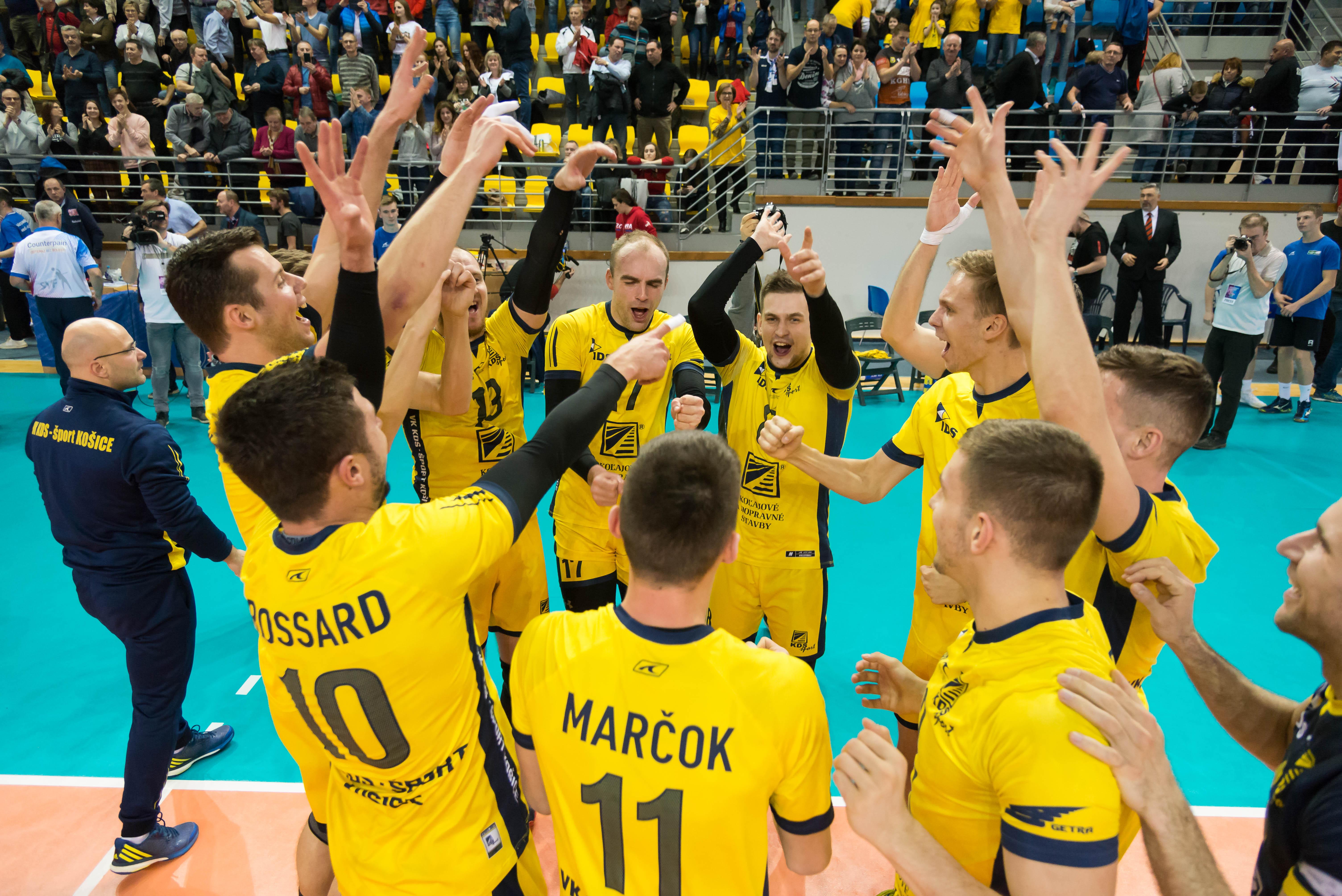 Košice získali prvý SP v histórii. Vo finále zdolali v derby Prešov v krásnom zápase 3:2. FOTO: Lukáš Jaseňák.