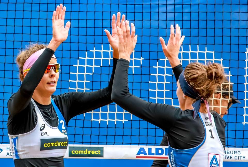 Na svetovom šampionáte spravili Slovenky ďalší krok k olympijským hrám. FOTO: FIVB