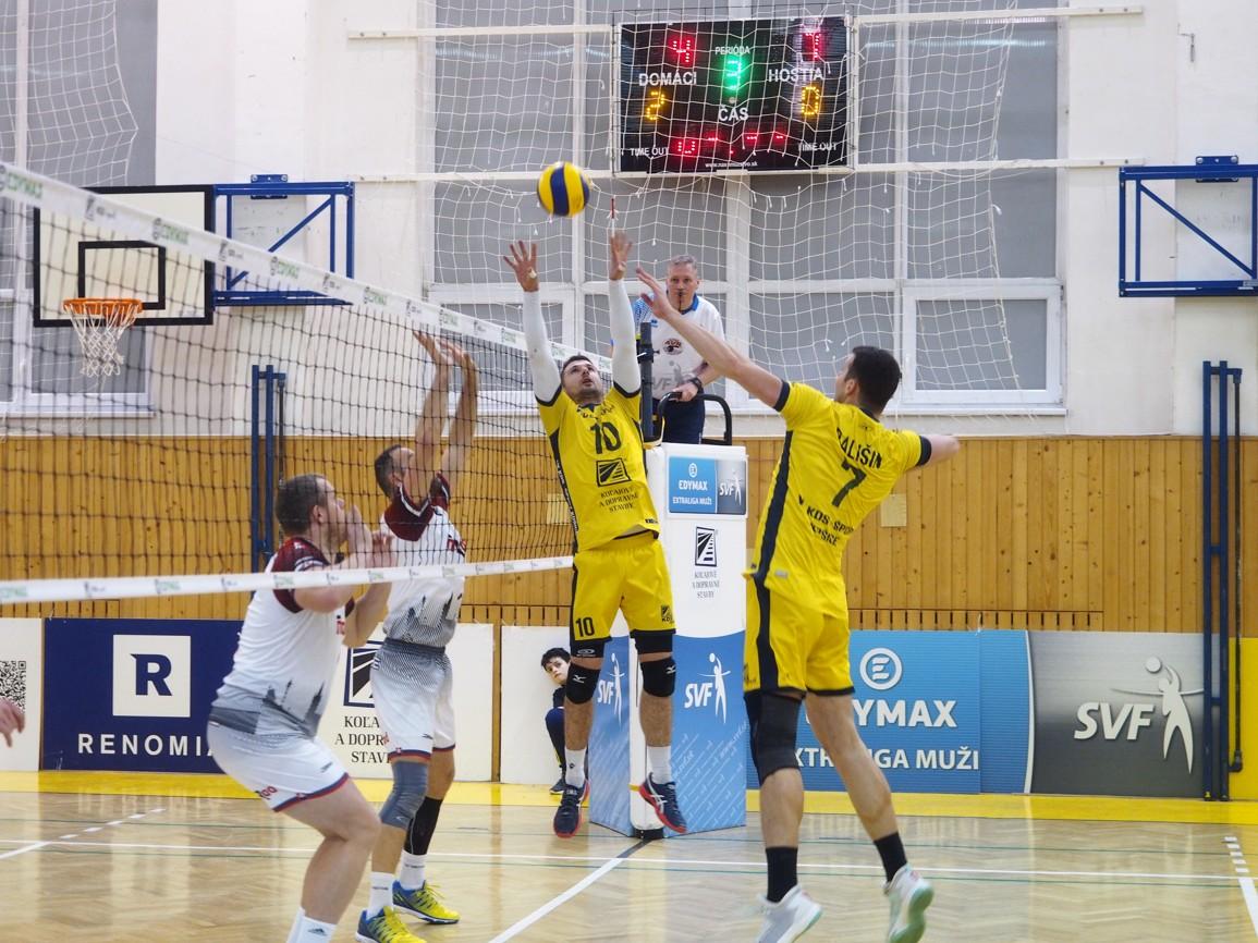 Nahrávač Košíc Rossard v akcii. FOTO: VK KDS-Šport Košice